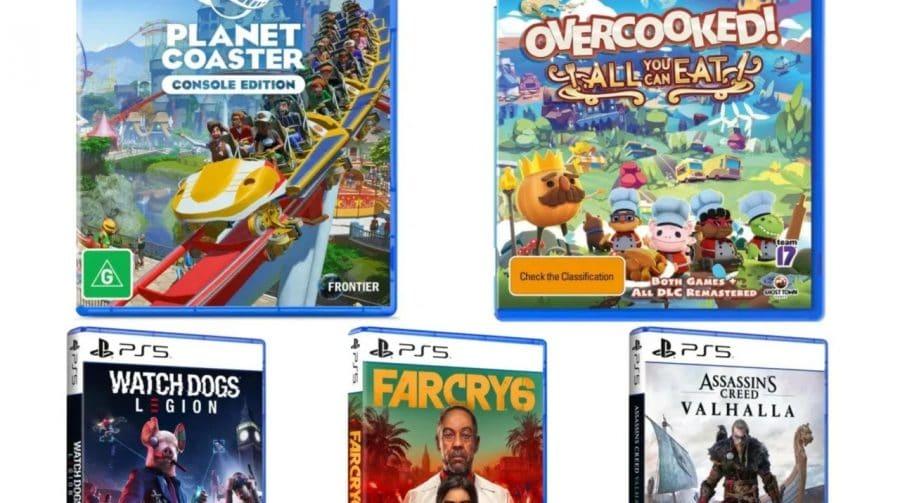 5 novas capas de jogos de PlayStation 5 reveladas