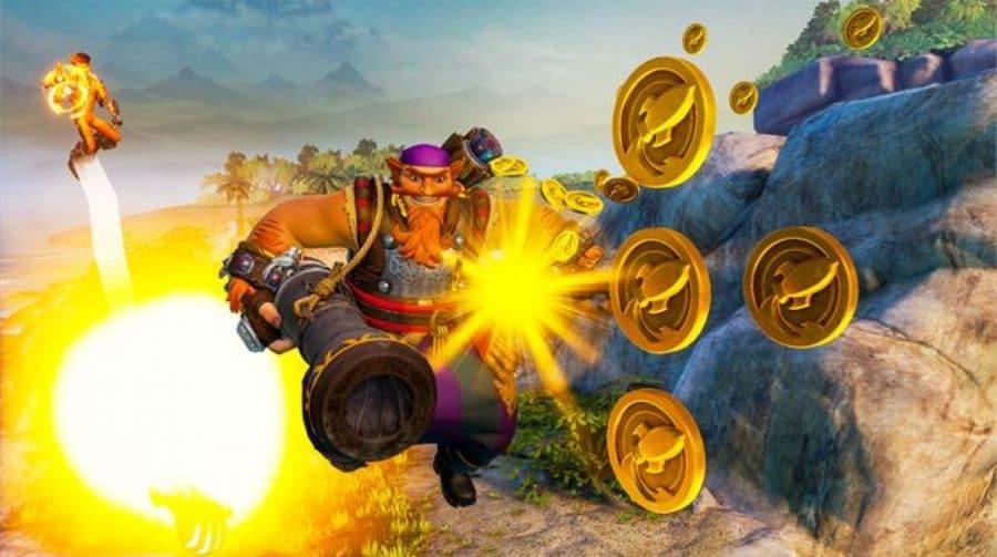 Após baita promoção, Rocket Arena chega ao EA Access