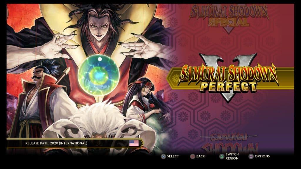 Samurai Shodown NEOGEO Collection - Samurai Shodown V Perfect