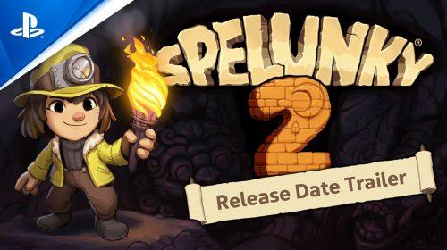 Novo trailer de Spelunky 2 revela data de lançamento: 15 de setembro!
