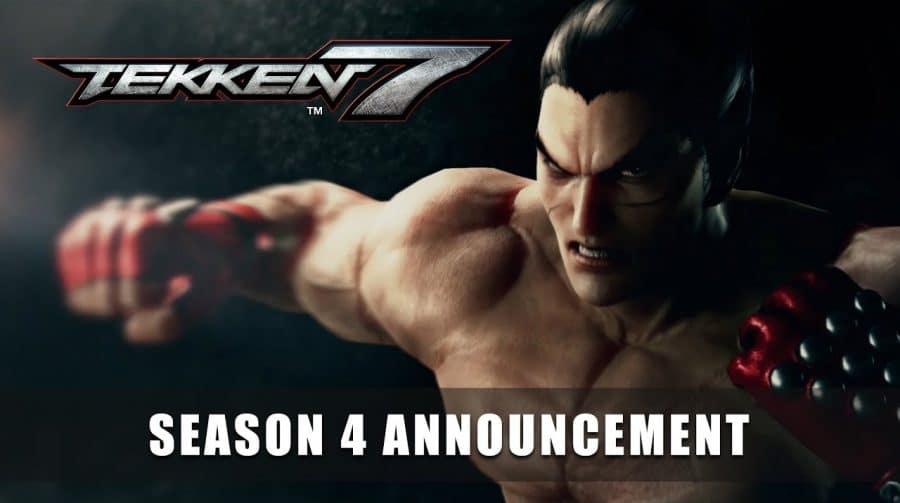 Bandai Namco anuncia 4º temporada para Tekken 7