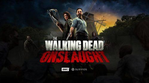 Com Rick e Daryl, The Walking Dead Onslaught chega ao PSVR em setembro