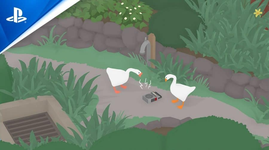 Dois é demais! Untitled Goose Game vai receber modo cooperativo