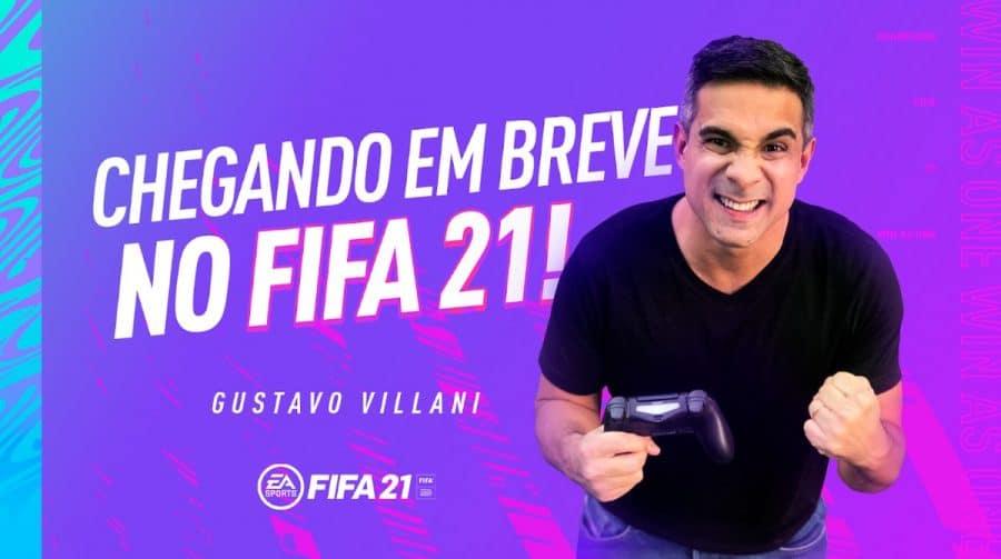 Gol de videogame! Villani explica o uso de bordões em FIFA 21