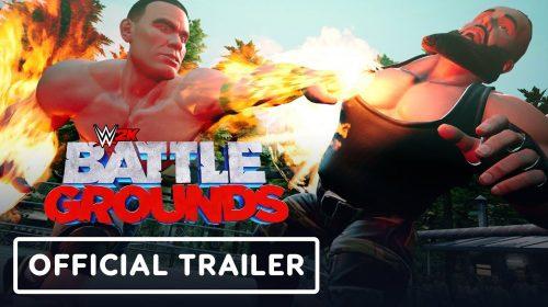 Trailer de WWE 2K Battlegrounds pancadaria e muita diversão