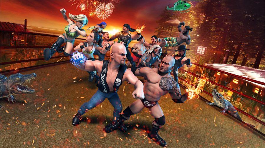 Novo trailer revela modos de jogo de WWE 2K Battlegrounds