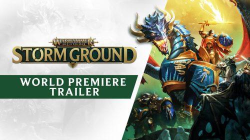 Warhammer Age of Sigmar: Storm Ground é anunciado para PS4
