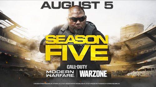Activision revela todas novidades da 5ª temporada de Modern Warfare e Warzone