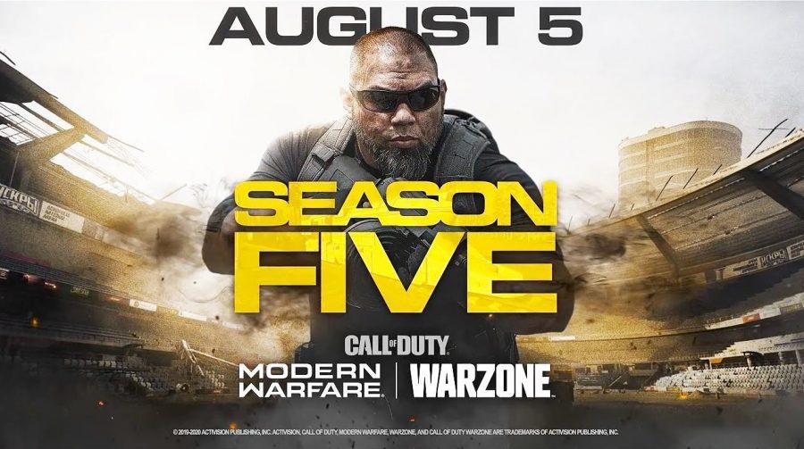 Activision revela todas as novidades da 5ª temporada de Modern Warfare e Warzone
