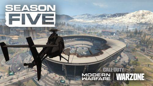 Novo trailer mostra estádio aberto e trens em 5ª temporada de Warzone