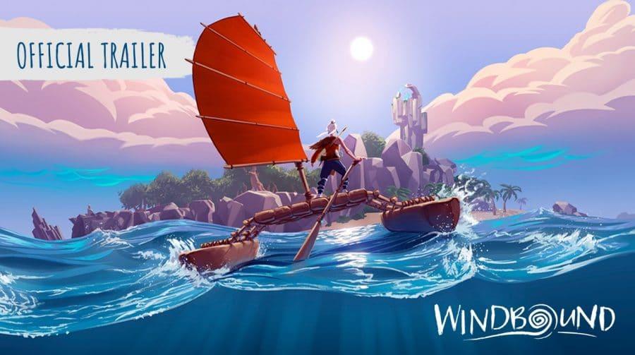 Windbound recebe mais um belíssimo trailer de história