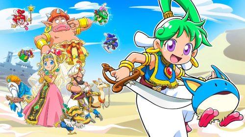 Wonder Boy: Asha in Monster World é anunciado para PS4