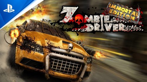Zombie Driver: Immortal Edition chegou ao PS4