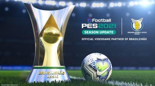eFootball PES 2021: Konami será patrocinadora do Campeonato Brasileiro