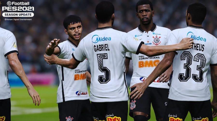 É o time do povo! Corinthians renova parceria e será exclusivo de eFootball PES 2021