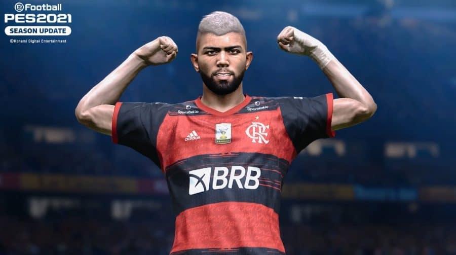Outro patamar: Flamengo é confirmado como parceiro de eFootball PES 2021