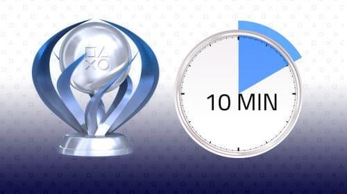 Em 10 minutos! A platina mais rápida e fácil do PS4