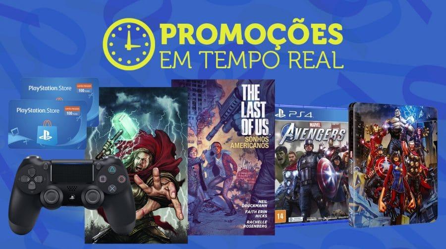 Tempo Real: acompanhe as melhores ofertas geeks da semana!