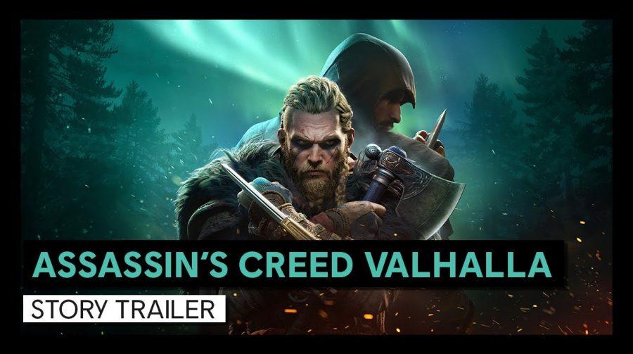 Trailer da história de Assassin's Creed Valhalla é revelado
