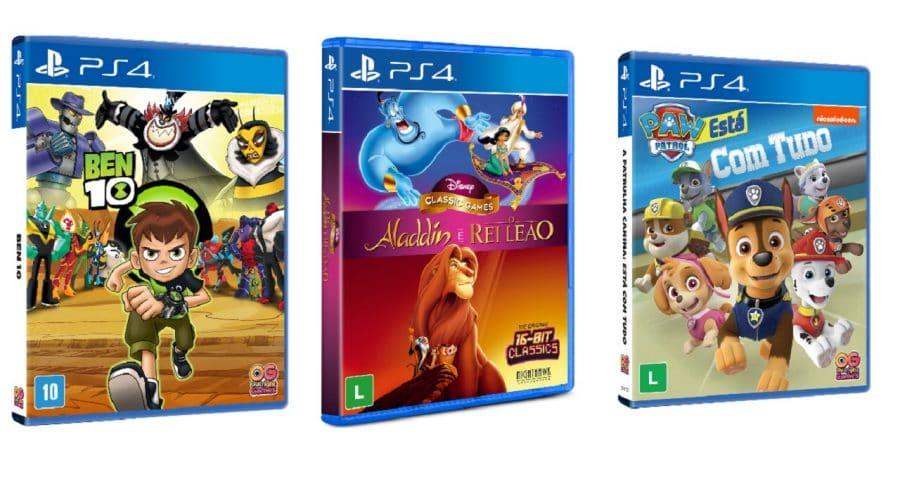 'Aladdin e O Rei Leão', Ben 10 e Patrulha Canina chegam em mídia física ao Brasil