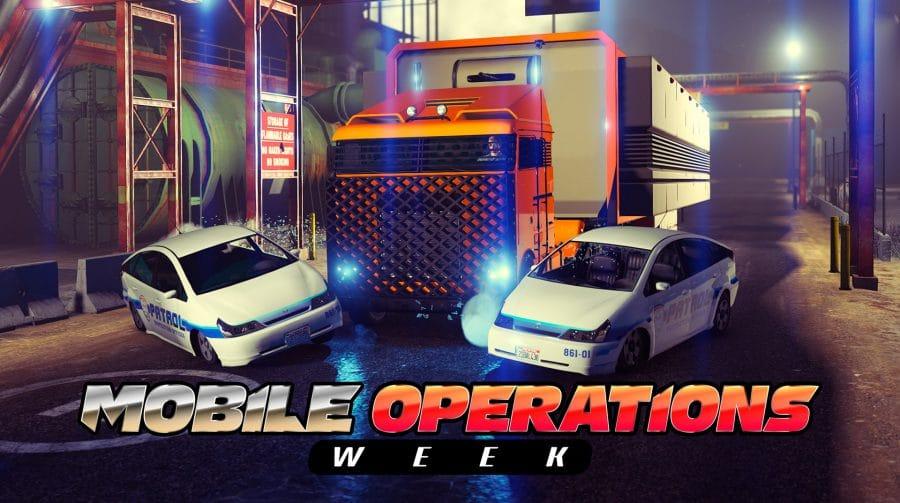Operações Móveis: GTA Online tem bônus e recompensas em dobro