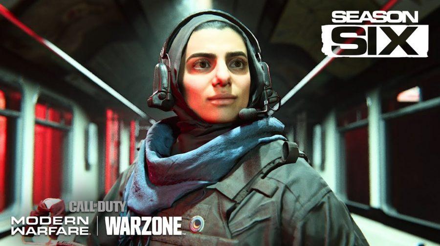 Trailer da nova temporada de Call of Duty: Modern Warfare destaca Farah e Nikolai