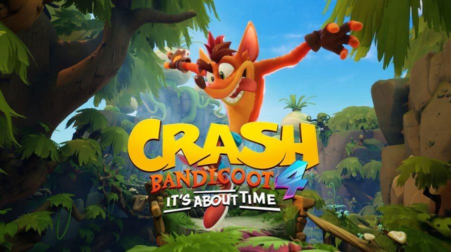Pré-load de Crash Bandicoot 4 já está disponível na PS Store!