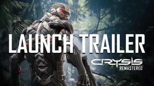 Trailer de lançamento de Crysis Remastered mostra ação frenética