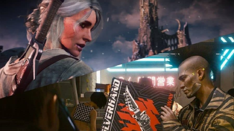 História de Cyberpunk 2077 será menor do que The Witcher 3