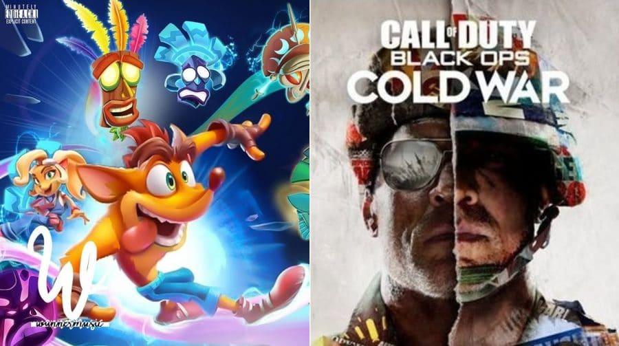 Activision explica porque Black Ops Cold War e Crash 4 não terão mídia física no Brasil