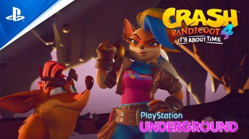Crash Bandicoot 4 terá DEMO para quem fez pré-venda; Tawna será personagem jogável!