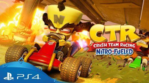 Estúdio confirma: não haverá novos updates para Crash Team Racing Nitro-Fueled