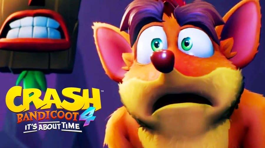 Crash Bandicoot 4: It's About Time não terá mídia física no Brasil
