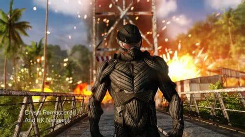 Novo trailer de Crysis Remastered destaca resolução 8K