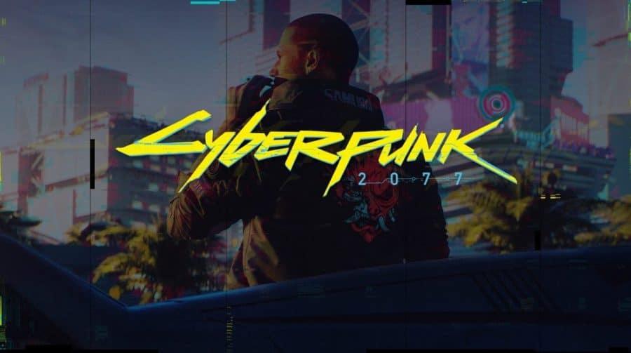 Cyberpunk 2077 no PS4 base está
