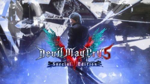 Capcom revela capa de Devil May Cry 5: Special Edition para PS5