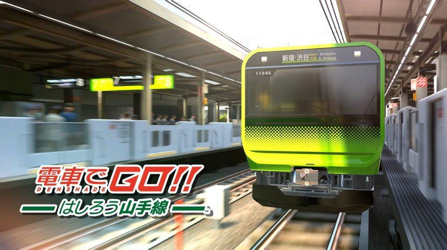 Densha de GO!! Hashirou Yamanote Sen é anunciado e te transforma em um maquinista
