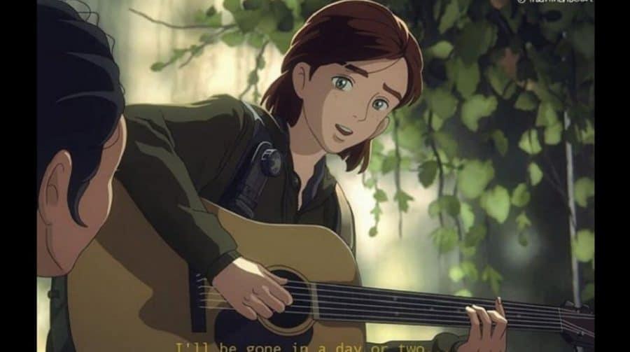 Artista cria incríveis desenhos de The Last of Us em estilo do Studio Ghibli
