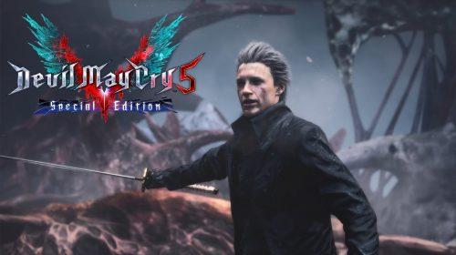 Capcom anuncia Devil May Cry 5: Special Edition, com irmão de Dante jogável
