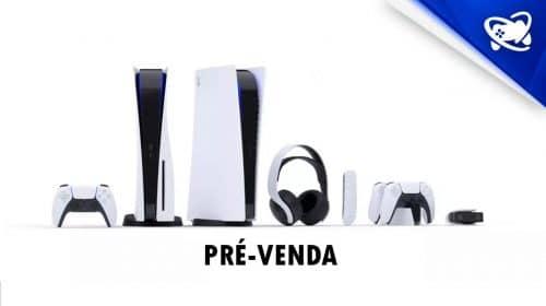 Headset Pulse 3D e DualSense também em pré-venda no Brasil