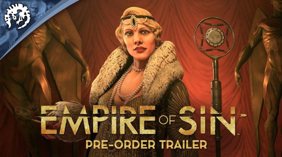 Data de lançamento de Empire of Sin é anunciada: 1 de dezembro!