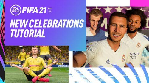Celebre com estilo: trailer de FIFA 21 destaca as novas comemorações de gol