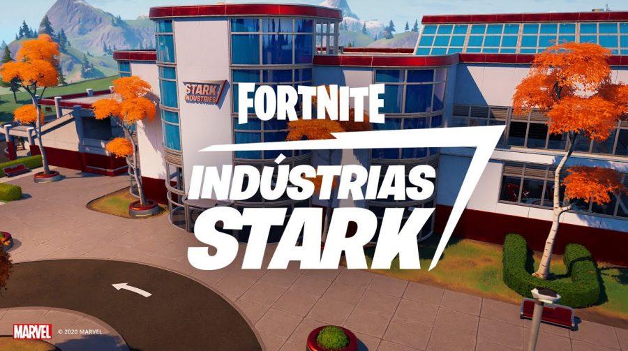 Área dedicada às Indústrias Stark é adicionada a Fortnite