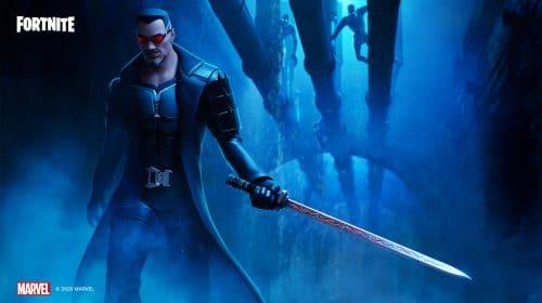 Blade, o caçador de vampiros da Marvel, chega a Fortnite
