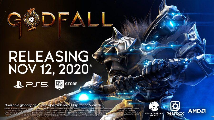 GodFall tem data de lançamento confirmada: 12 de novembro