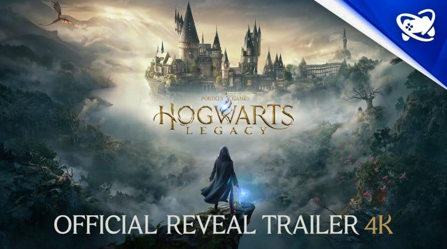Revelio! Hogwarts Legacy é revelado para PlayStation 5