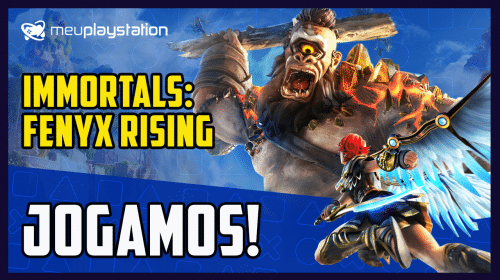 "Jogamos! Immortals: Fenyx Rising é ""Zelda no PlayStation"""