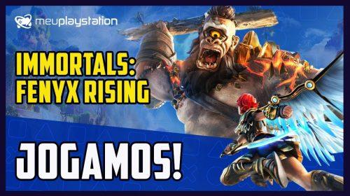 Jogamos: gameplay de Immortals: Fenyx Rising (ex-Gods & Monsters)