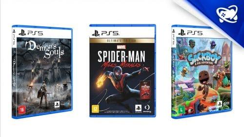 VALENDO: começam as pré-vendas dos jogos de PS5
