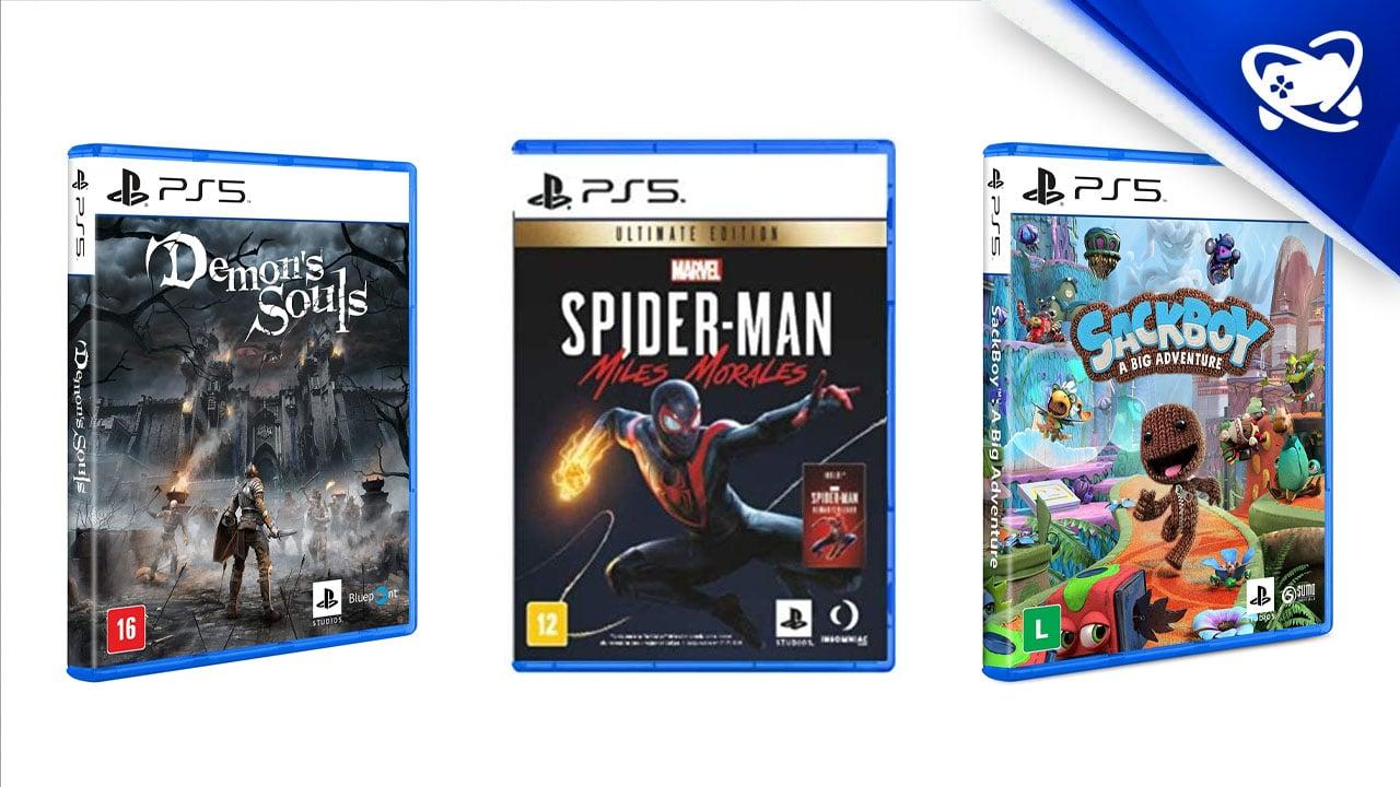 pré-vendas dos jogos de PS5